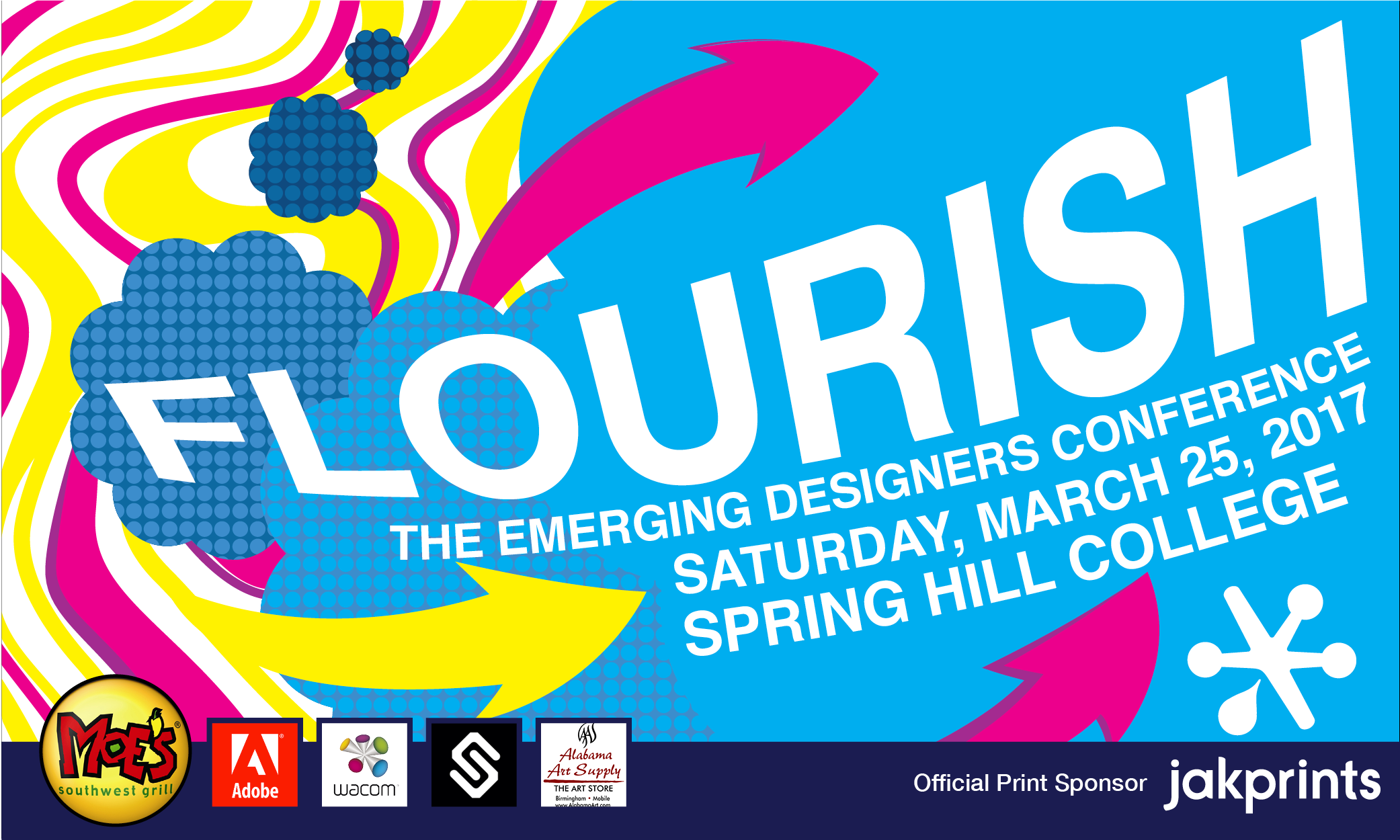 Junior And Senior Level Design Students Emerging Talent Are Invited To Attend Flourish The Designers Conference Hosted By AIGA Mobile